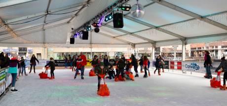 Discoschaatsen, curling en een santa run: Houten kiest weer voor winterse pret op Het Rond
