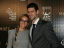 Ook Jelena, de vrouw Novak Djokovic, testte positief.