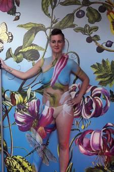 Bodypaint op kunstpleintje Zierikzee