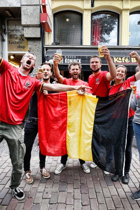 Belgische kroegen in Utrecht overtuigd van WK-kansen: 'Ik kom hier ook de finale kijken'