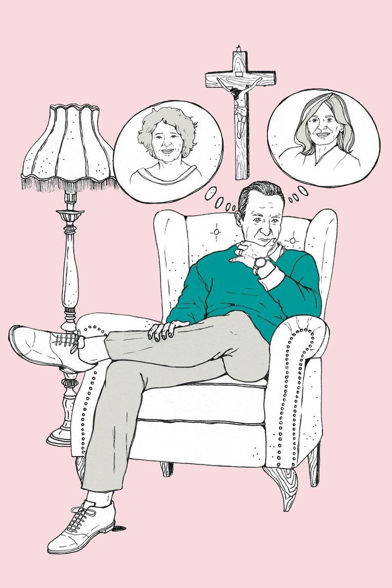 """Of ik even naar hem wil luisteren? De 63-jarige Gerard praat via de telefoon moeiteloos over zijn situatie. """"Mijn vrouw is aseksueel. Altijd geweest. Ik ben bij haar gebleven: scheiden was een schande in dien tijd, mevrouw. Maar ik kan het niet langer opbrengen. Is het te laat om die stap te zetten?"""", klinkt het aan de andere kant van de lijn."""