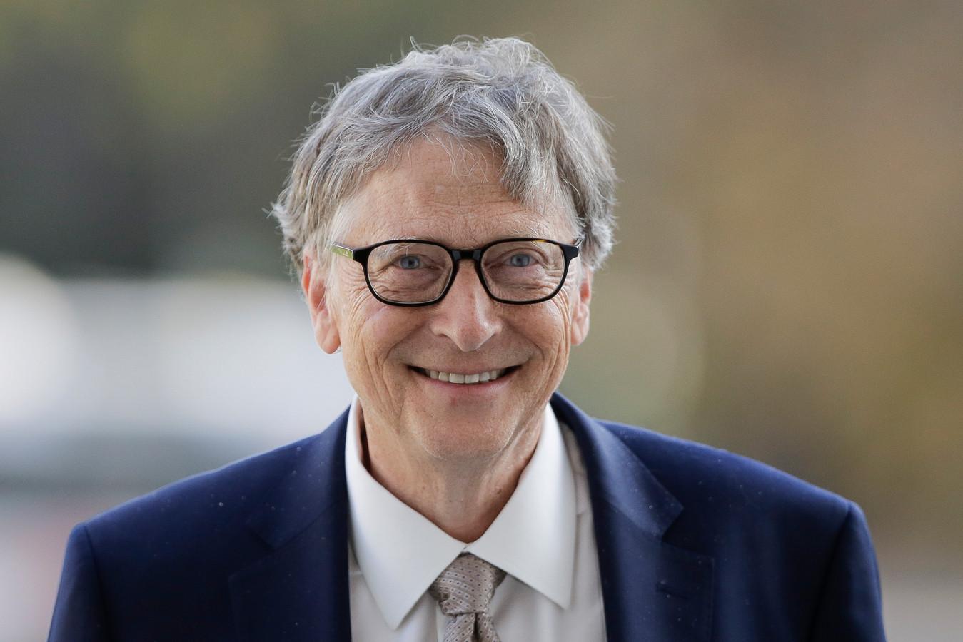 Microsoft-oprichter en filantroop Bill Gates.