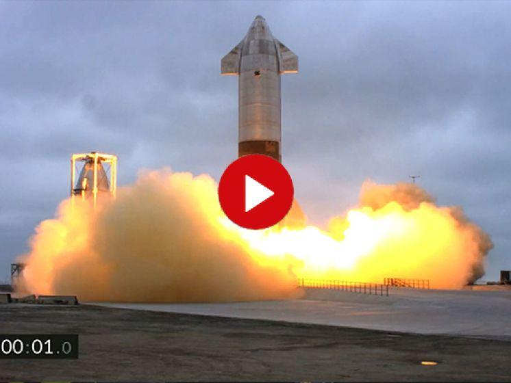 Marsraket' van SpaceX succesvol geland na testvlucht