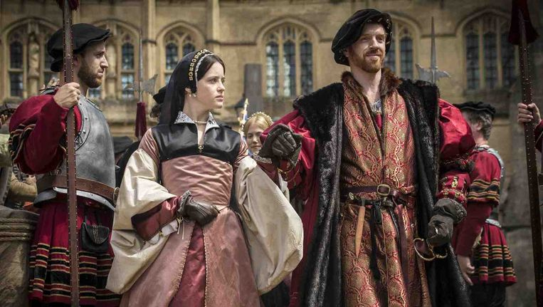 Damien Lewis in Wolf Hall Beeld BBC First