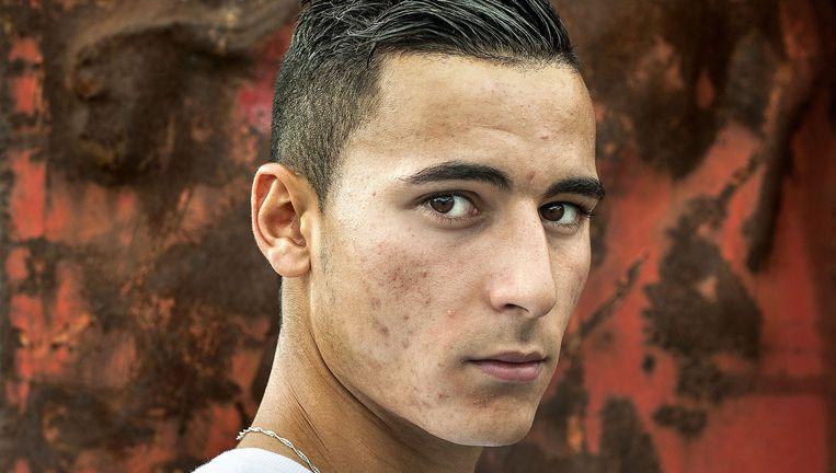 Anwar El Ghazi. Beeld Guus Dubbelman