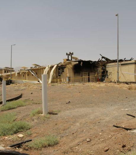 Iran geeft toe: 'Flinke schade door brand op nucleair complex'