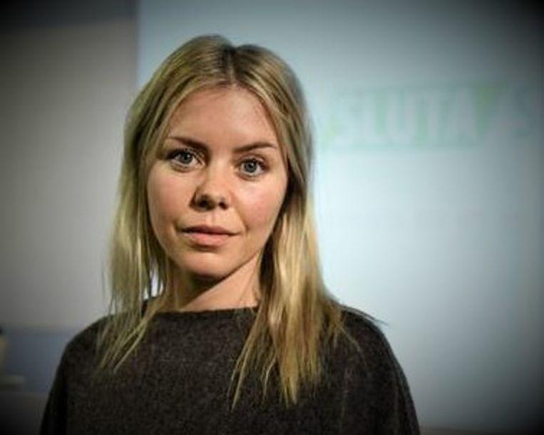 Sociaal werker Rebeca Persson Beeld