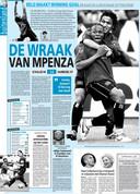 In het shirt van Hamburg scoorde Mpenza ooit de winnende treffer tegen Schalke. Hij kon manager Rudi Assauer van antwoord dienen.