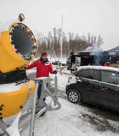 In Zoetermeer sneeuwt het deze week élke dag