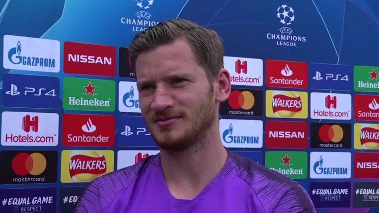 Vertonghen is fit voor Champions League-finale.