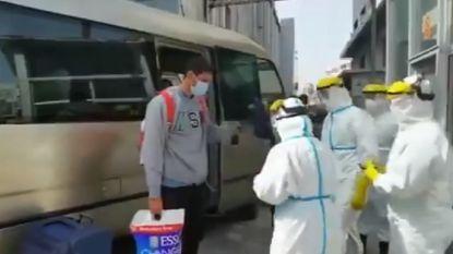 Fellaini keert terug naar China, maar moet wel 14 dagen in quarantaine blijven