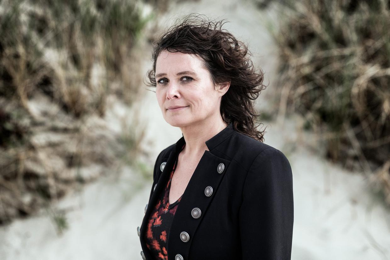 Griet Op de Beeck: 'Ik heb de mogelijkheid om moeder te worden kapotgedacht. Ik zou doodsbang zijn om mijn kind te beschadigen.' Beeld Bob Van Mol