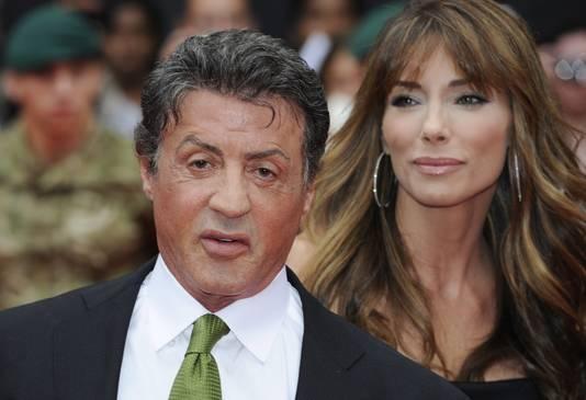 Sylvester Stallone en zijn echtgenote Jennifer Flavin schelen 22 jaar.