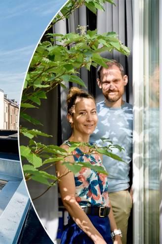 """""""Ons valnet met zicht door het dakvenster kan wel duizend kilo dragen: binnenkijken in het 'glazen huis' van Jade (42) en Kristof (48)"""