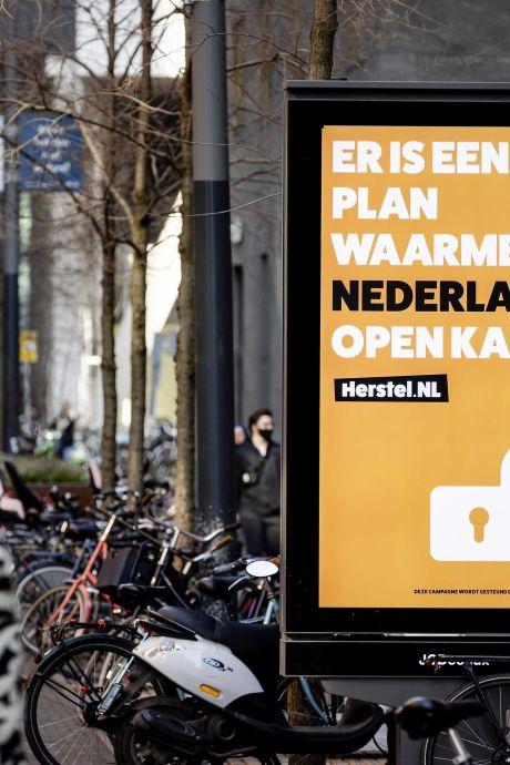 Herstel-NL geeft strijd tegen lockdown niet op, ondanks turbulente start