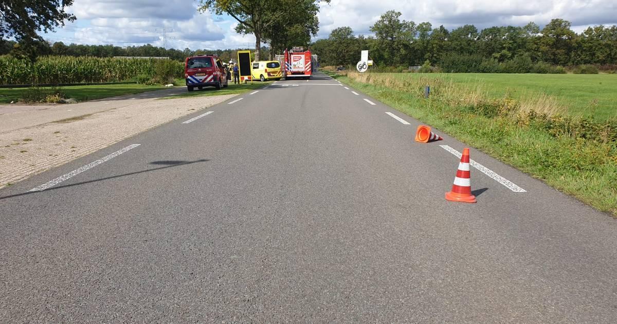 Motorrijder overleden bij ongeval op Bornerbroeksestraat.