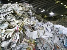 SHO scherpt de regels aan met oud papier: alleen inzamelen op vaste tijden