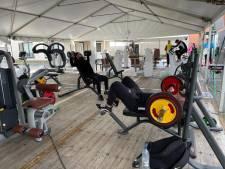 Plaza en gemeente Oldenzaal zijn eruit: sporten in de tent mag weer, maar met minder toestellen