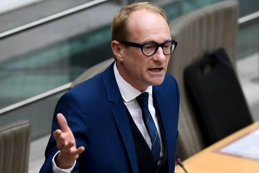 Vlaams minister van Openbare Werken en Mobiliteit Ben Weyts (N-VA).