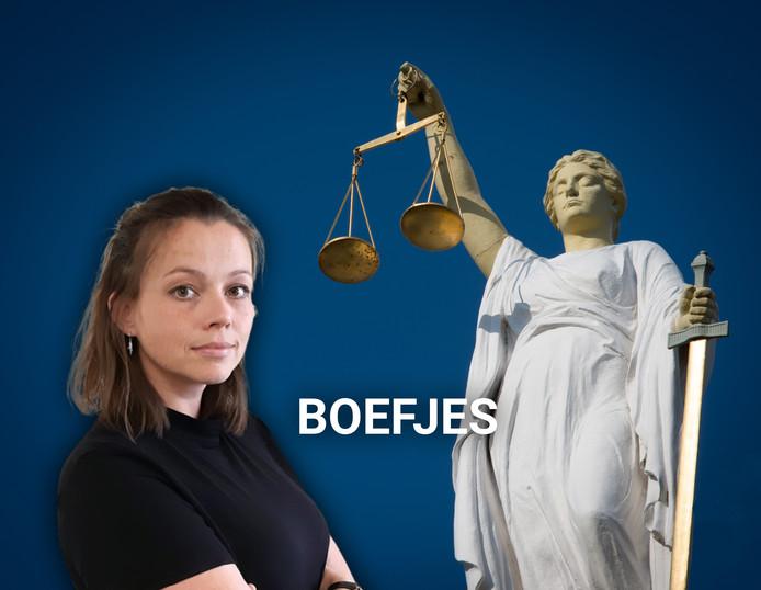 INZET VOOR ONLINE Serena Hofman beschrijft klein leed in de rechtbank in de serie Boefjes