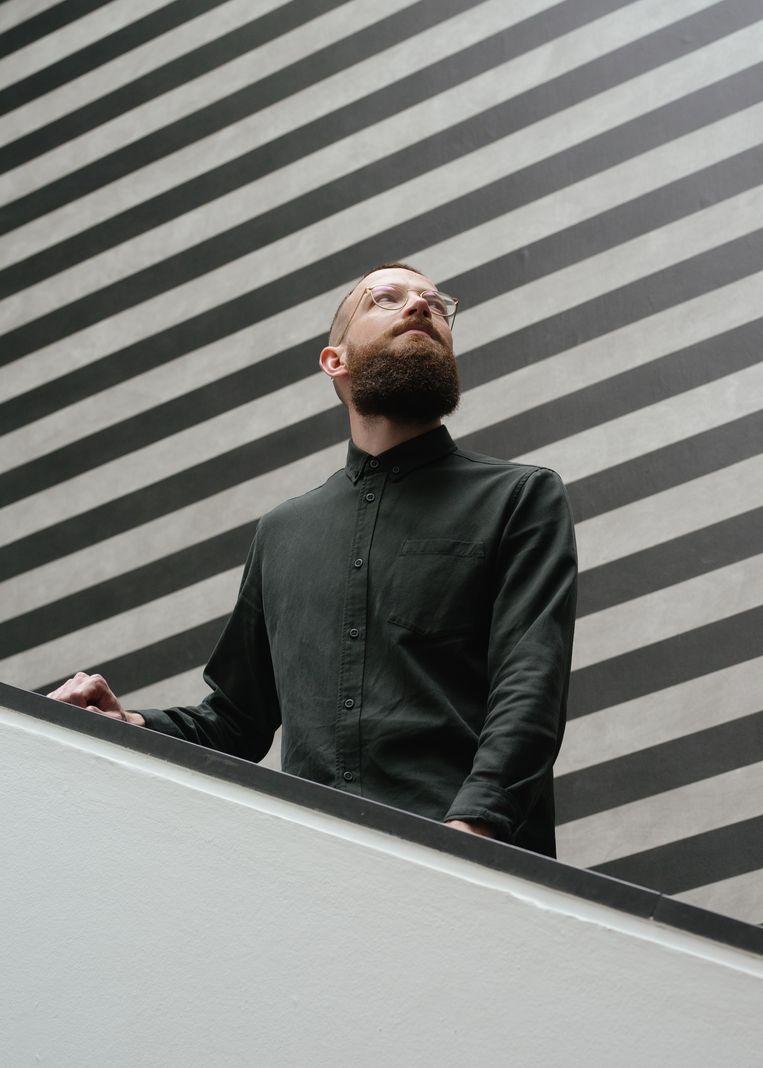 Jan de Bruijn, conservator van het Gemeentemuseum Den Haag Beeld Khalid Amakran