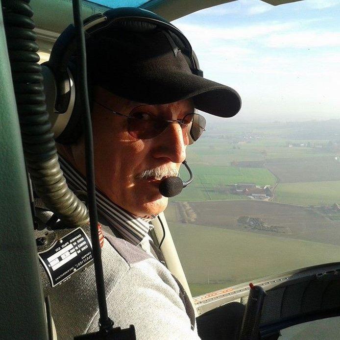 Erik Bussé was een gekend figuur in de vliegwereld.