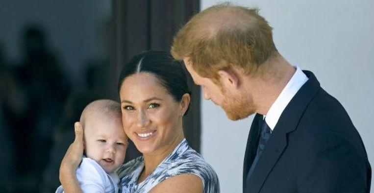 Ontroerend: dit is volgens prins Harry een van de eerste woordjes van Archie Beeld BrunoPress