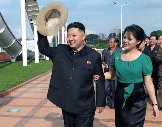 Ri Sol-ju avec Kim Jong Un