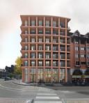 Voici le nouvel immeuble qui se situera au coin du boulevard Tirou et de la rue de l'Écluse à Charleroi