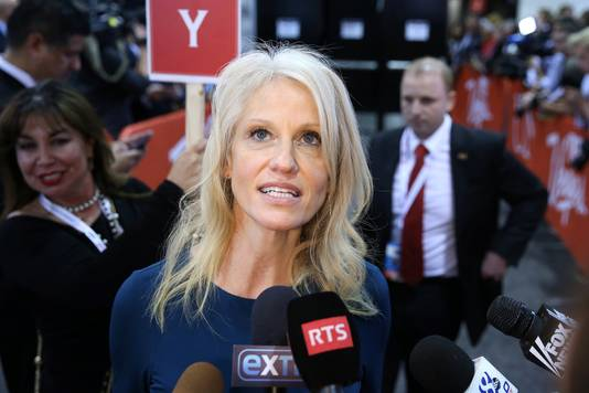 Trumps campagnemanager Kellyanne Conway