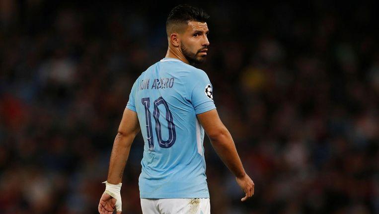 De Argentijnse topvoetballer Sergio Agüero van Manchester City. Beeld Pro Shots