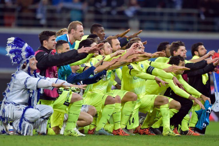 Alleen AA Gent wist zich als Belgische club te plaatsen voor de knock out-fase van het kampioenenbal.