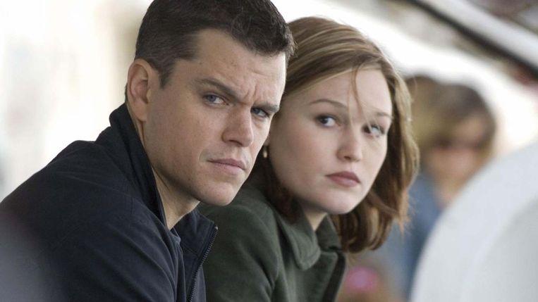 Matt Damon en Julia Stiles in The Bourne Ultimatum van Paul Greengrass. Beeld