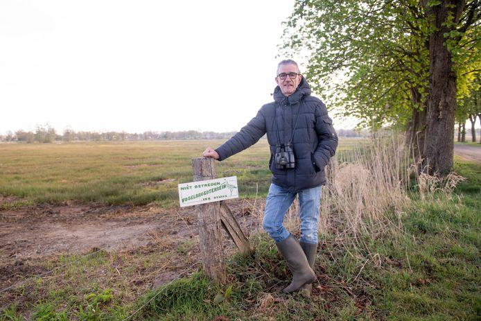 Voorzitter Wim Baan van IVN Natuureducatie Rijssen-Enter.