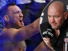UFC-baas niet blij met scheldende McGregor: 'Laat families erbuiten'