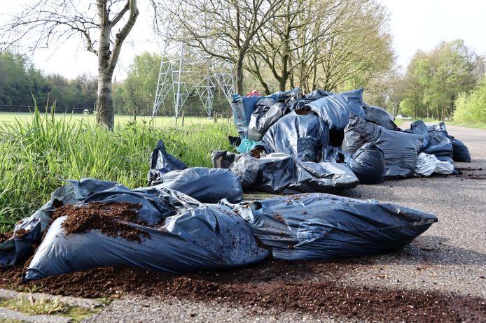 Een grote hoeveelheid drugsafval gevonden in Twekkelo
