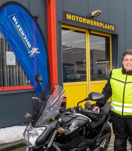 Als het lenteweer in aantocht is, krijgen motorrijders meteen de kriebels, merken ze hier in Nieuwleusen