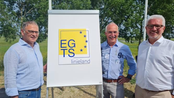 EGTS Linieland van Waas en Hulst viert tienjarig bestaan met onthulling van nieuw logo