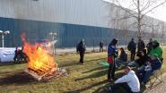 Boze Waalse arbeiders blokkeren hoofdkantoor Yusen Logistics