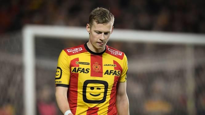 """Nikola Storm over invallersrol bij KV Mechelen: """"Ik ga mijn kopje niet laten hangen"""""""