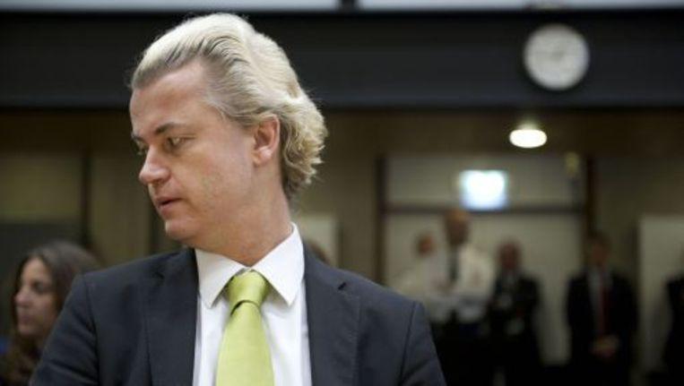 PVV-leider Geert Wilders. © anp Beeld