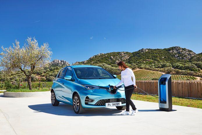 Iedereen in het Franse dorpje Appy krijgt een Renault Zoe.