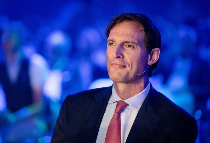CDA-leider Wopke Hoekstra op het partijcongres in Den Bosch.
