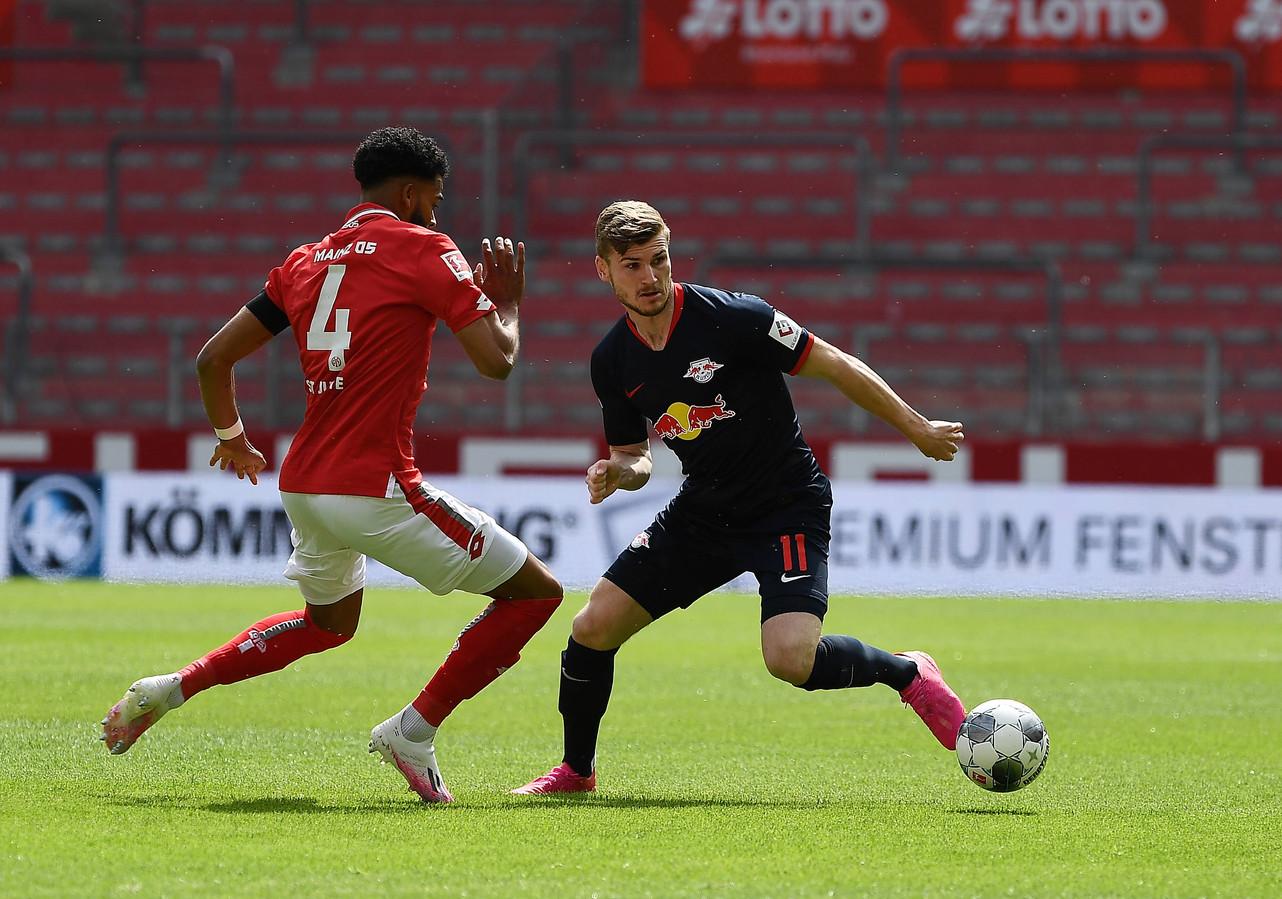 Werner kapt St. Juste uit.
