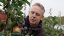 Peter Baars, een van de appeltelers.