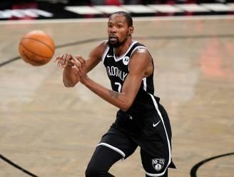 Kevin Durant scoort in oefenduel 15 punten voor Brooklyn bij rentree
