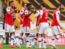 Arsenal doet goede zaken met zege bij Wolverhampton Wanderers