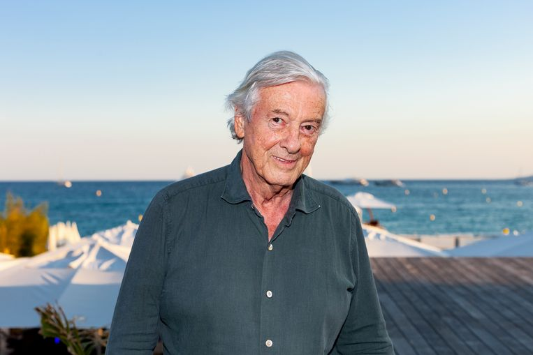 Paul Verhoeven op het Cannes Filmfestival 2021. Beeld Renate Beense