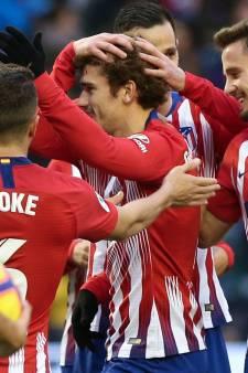 Atlético dankzij Griezmann met de schrik vrij bij Valladolid