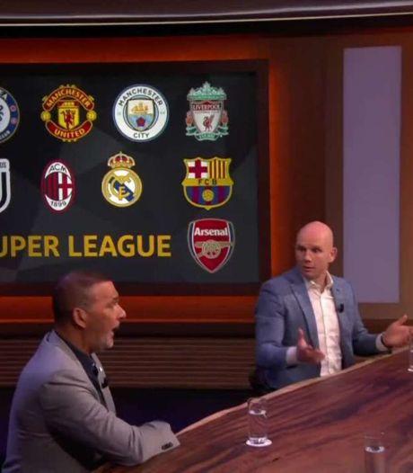 Reacties uit voetbalwereld op Super League: 'Wij kijken naar Ajax'
